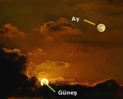 ay ve güneş