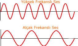 Sesin Frekansı: Ses dalgasının frekansını öncelikle grafik ...